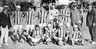 Exeter City F.C. - The team that played Brazil national team in 1914.