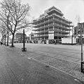 Exterieur overzicht gebouw tijdens restauratie (zonder glazen wanden en gevels) - Heerlen - 20001054 - RCE.jpg