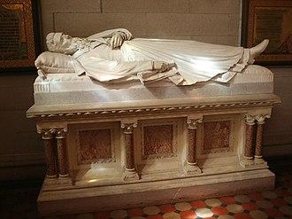Ezra Cornell - Cornell's sarcophagus in Sage Chapel