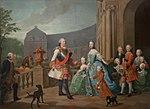 Fürst Carl von Waldeck und Pyrmont und seine Familie