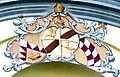 Fürstenzell Klosterkirche - Fassade 1 Wappen.jpg