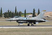 F-16C Block 52M displaying as the Hellenic AF display team.jpg