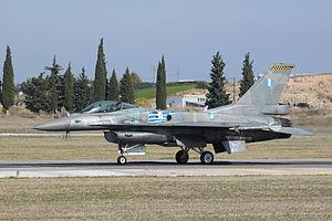 F-16C Block 52M displaying as the Hellenic AF display team.jpg
