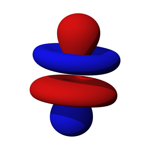 Cover Graphic: A three-dimensional representation of an atomic 4f orbital
