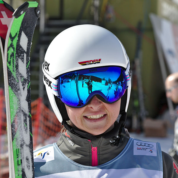 File:FIS Ski Cross World Cup 2015 - Megève - 20150313 ... Sabrina Weilharter