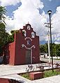 Fachada Capilla Santiago Apóstol; Hunucmá, Yucatán.jpg