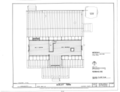 Farmhouse - Second Floor Plan - Dudley Farm, Farmhouse and Outbuildings, 18730 West Newberry Road, Newberry, Alachua County, FL HABS FL-565 (sheet 3 of 22).png