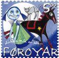 Faroe stamp 445 children's songs - dukka min er bla.jpg
