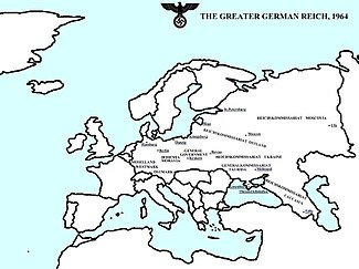 Hypothetical axis victory in world war ii wikipedia this map of europe details a victorious german reich in 1964 as described in robert harris novel fatherland although fictional many of the named regions gumiabroncs Gallery