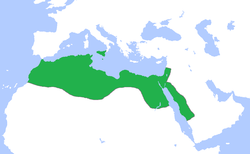 The Fatimid Caliphate at its peak, c. 969.