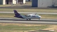 File:FedEx N917FX ATR 42 Landing Portland Airport (PDX).ogv
