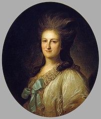 Portrait of V.E.Novosiltsova