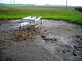 Feeding Trough Near Hole - geograph.org.uk - 635384.jpg