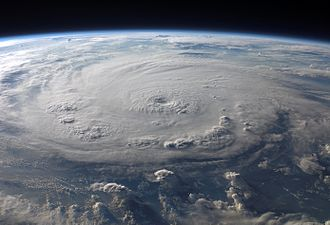 Earth - Hurricane Felix seen from low Earth orbit, September 2007