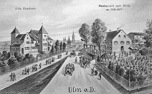 Felle Ulm Villa Eberhard Restaurant Alber