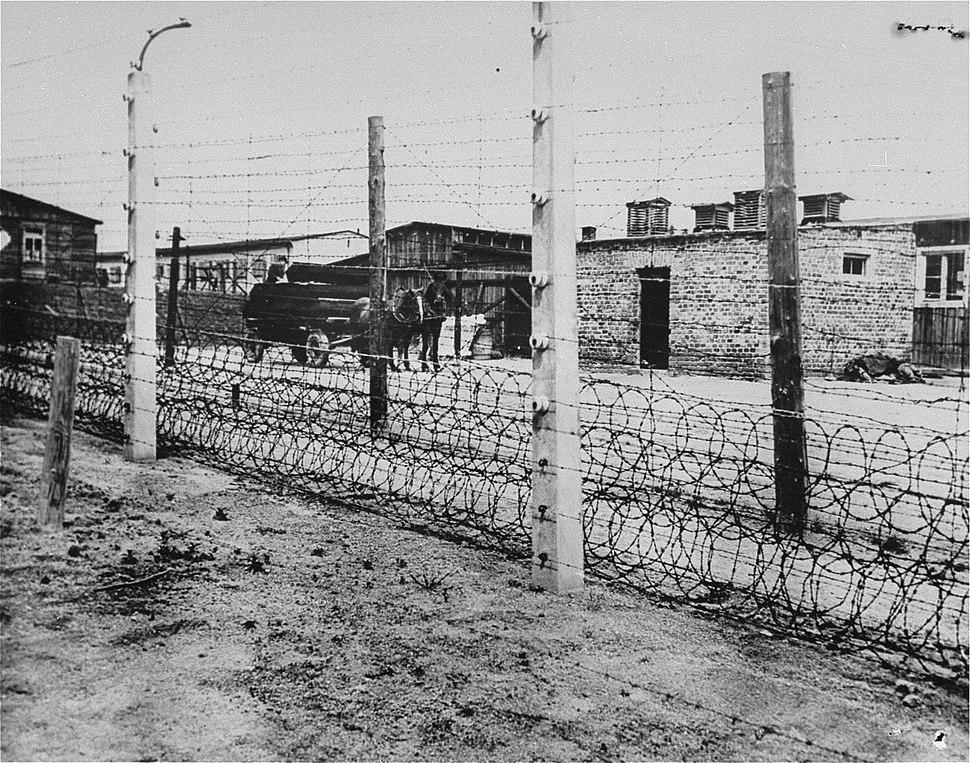 Fence at Flossenbürg concentration camp
