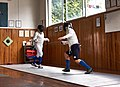 Fencing in Greece. The training at Athenaikos Fencing Club early in the morning.jpg