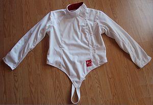 Fencing - Image: Fencing jacket