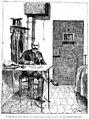 Ferdinand Walsin Esterhazy dans sa cellule - 1898.jpeg