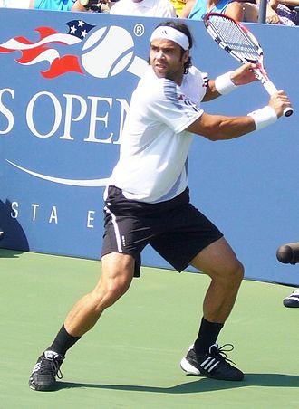 Fernando González - Image: Fernando Gonzalez 2009 US Open