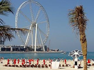 Ain Dubai observation wheel in Dubai