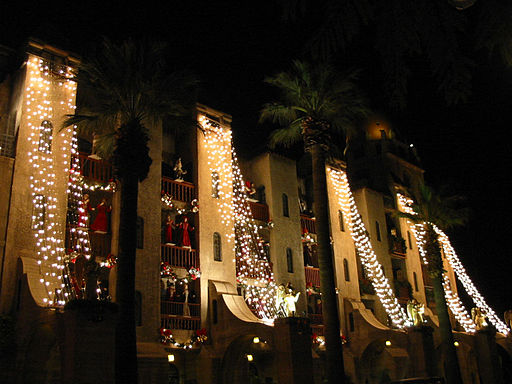Mission Inn Festival of Lights, California