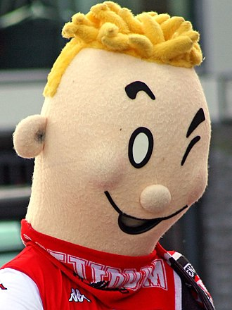 Feyenoord - Coentje, the mascot of the Kameraadjes