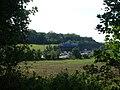 Fields beside Pebble Lane (Stane Street) - geograph.org.uk - 54108.jpg