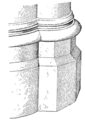 Fig 125 -Persp, base of West Pier, Nave of Paris.png