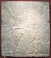 Figura alata presso un albero sacro, dal pal di ashurnasirpal II a Kalhu (Nimrud), IX sec. ac..JPG