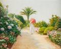 Figura feminina no jardim (1917) - Veloso Salgado.png
