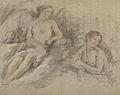 Figure ailée sur des nuées avec un enfant et une femme.jpg