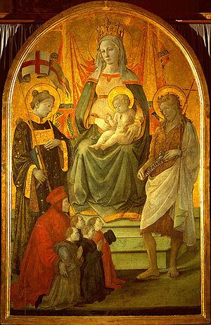 Madonna del Ceppo - Image: Filippo Lippi Madonna del Ceppo