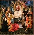 Filippo lippi e fra diamate, madonna della cintola e santi, 1456-66, da s. margherita a prato 01.jpg