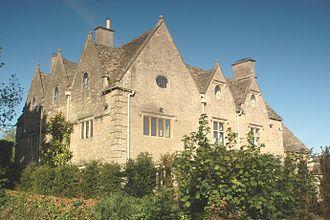 Finstock - Finstock Manor House, built in 1660