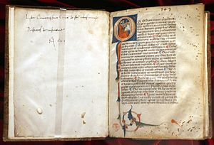 Priscian - Institutiones Grammaticae, 1290 circa, Biblioteca Medicea Laurenziana, Florence