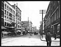 First and Spring, Seattle, 1912 (MOHAI 3084).jpg