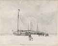 Fishing Boats on the Beach in Winter MET DP800942.jpg