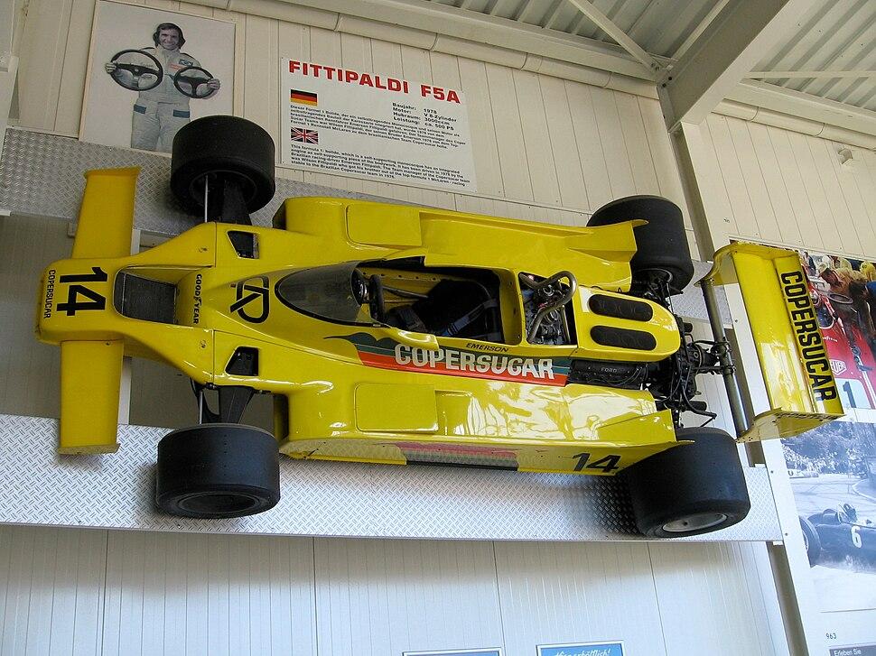 Fittipaldi F5A Auto und Technik Museum Sinsheim