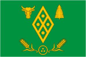 Volosovsky District - Image: Flag of Volosovo rayon (Leningrad oblast)