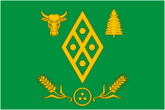 Volosovsky District - Image: Flag of Volosovo rayon (Leningrad oblast)