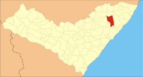 Localização de Flexeiras