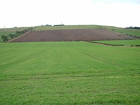 Flodden Field (Braxton) - 2004-Feb-06 - Looking SSE from the monument.jpg