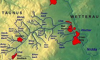 Usa (Germany) - Usa drainage