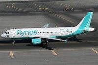 Flynas A320-200 VP-CXR DXB 2014-11-22.jpg