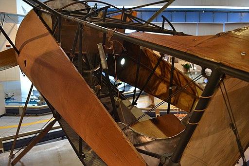 Fokker D.VIII cockpit, Museo dell'Aeronautica Gianni Caproni