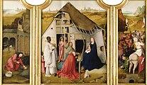 Follower of Hieronymus Bosch - Adoration of the Magi - Upton House (open).jpg