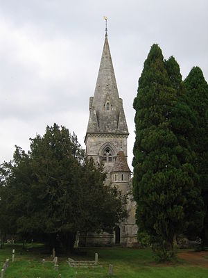 Fonthill Gifford - Image: Fonthill Gifford Holy Trinity