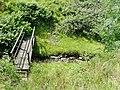 Footbridge and Nant Cou near Tregaron, Ceredigion - geograph.org.uk - 1184586.jpg