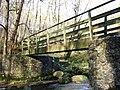 Footbridge next to ford at Snape Rake Lane - geograph.org.uk - 1050130.jpg